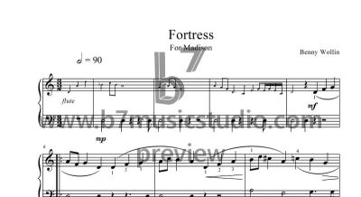 Fortress - Sheet Music Preview