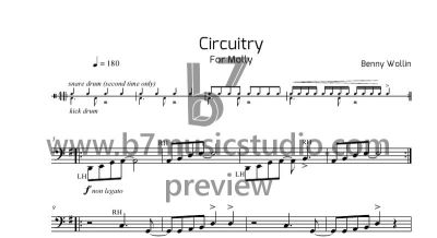 Circuitry - Sheet Music Preview