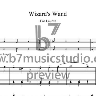 Wizard's Wand - Sheet Music Preview