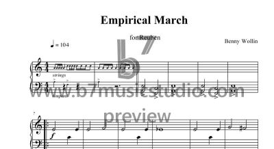 Empirical March - Sheet Music Preview