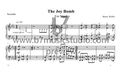 The Joy Bomb - Secundo - Sheet Music Preview