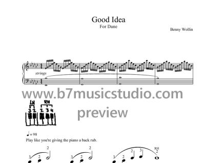 Good Idea - Primo Sheet Music Preview