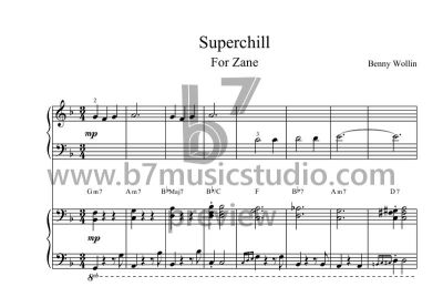 Superchill - Full Score Preview