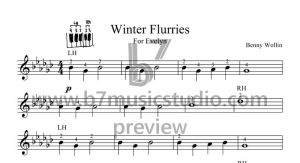 Winter Flurries - Primo Alternative Score Preview