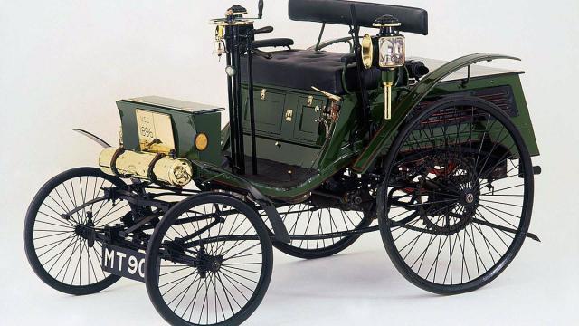 Arnold Benz iz 1896. (Foto: Concours of Elegance)