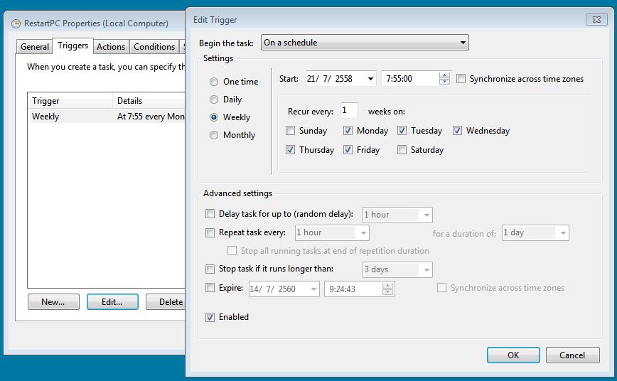 Task Scheduler restart3