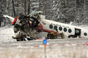 Crash of a Beechcraft King Air A100 in Kirby Lake: 1
