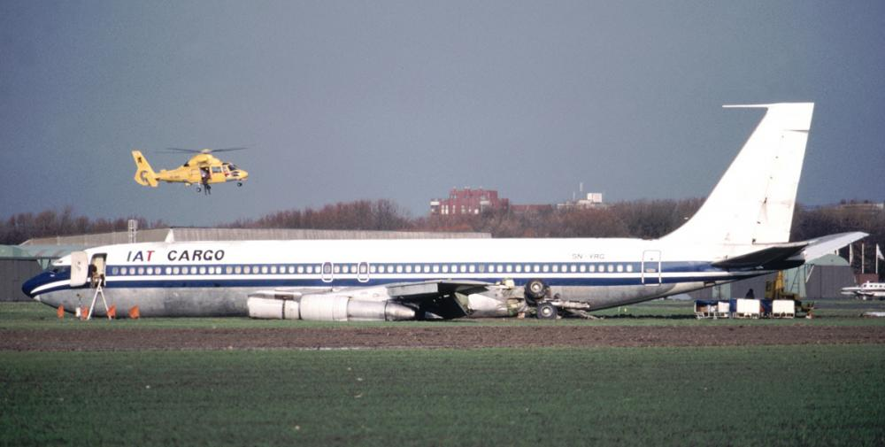Crash Of A Boeing 707 In Ostende Bureau Of Aircraft