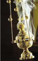 Frankincense is still used in many religious services