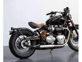 exhaust silencers for triumph bobber 2017