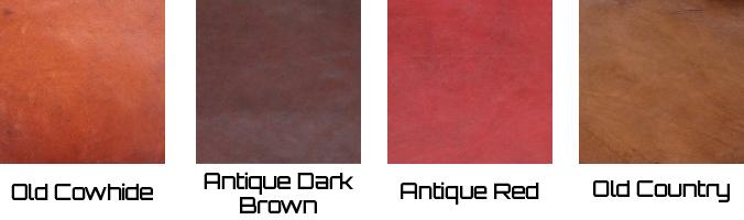 Bendic - overzicht kleuren leer - Baan Wonen
