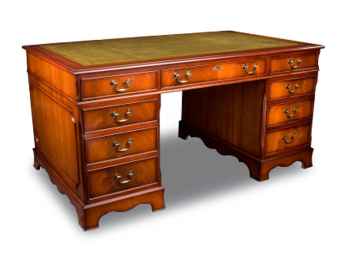 Regency Pedestal Desk - Engelse stijlmeubelen - Bendic