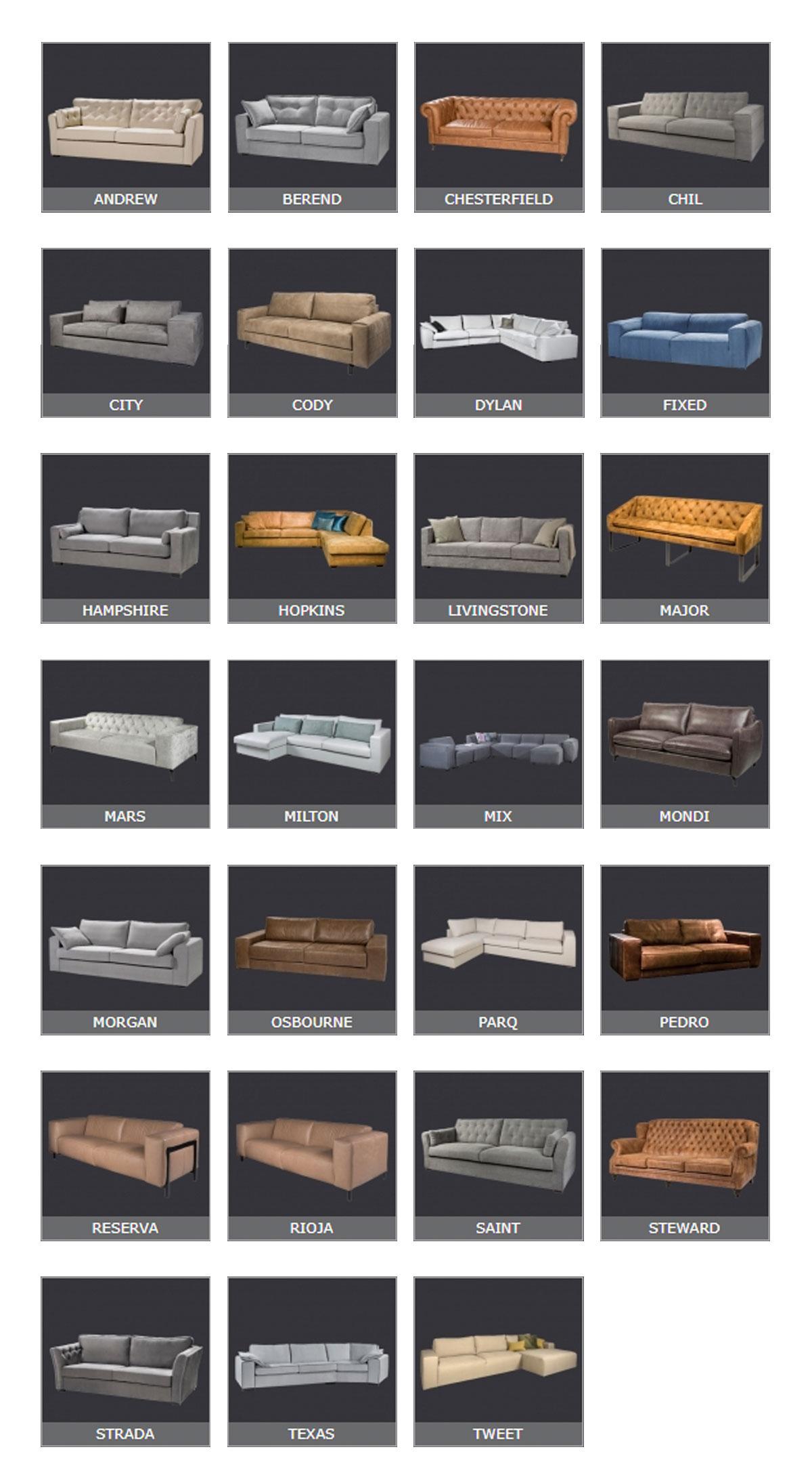 Banken - Totaaloverzicht - NIX Design - Baan Wonen
