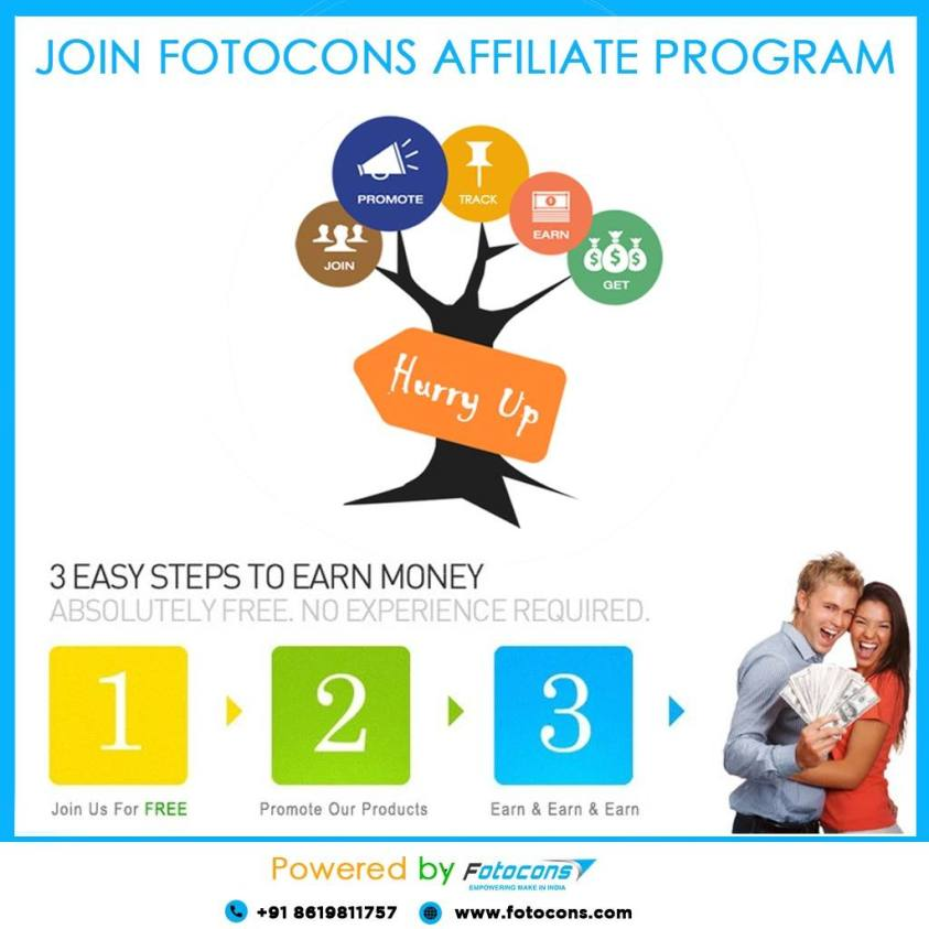 Fotocons affiliate program-earn from home