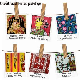 Indian Traditional paintings Folk paintings