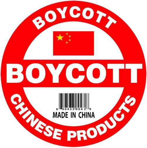 Boycott China product-Empower make In India