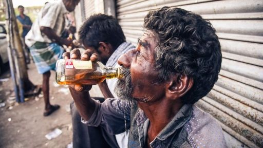 Drunken India-is this real India
