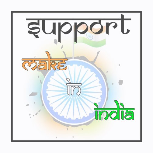 support make In India