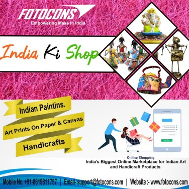 Online marketplace for Indian art and handicrafts