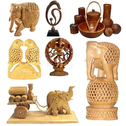 Buy Unique Indian Handicrafts Wooden craft Rajasthan from Fotocons