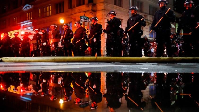 Reality behind USA riots