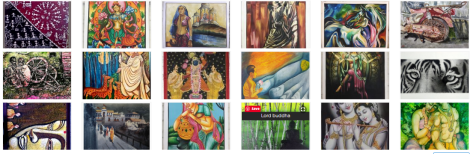 Shop Handmade Paintings, Canvas Prints, Portraits and Framed, unframed paintings Online from India