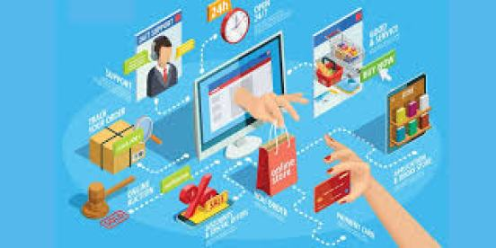 Online shopping-impressive digitalization effect