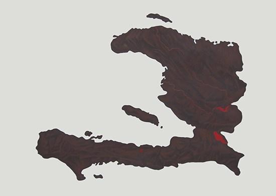 Mapas De Piel - Haiti