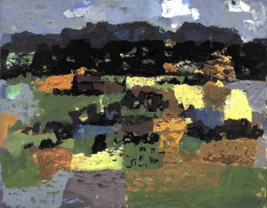 Fields and Hills - Arnold Blanch
