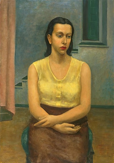 Seated Girl - Arnold Blanch