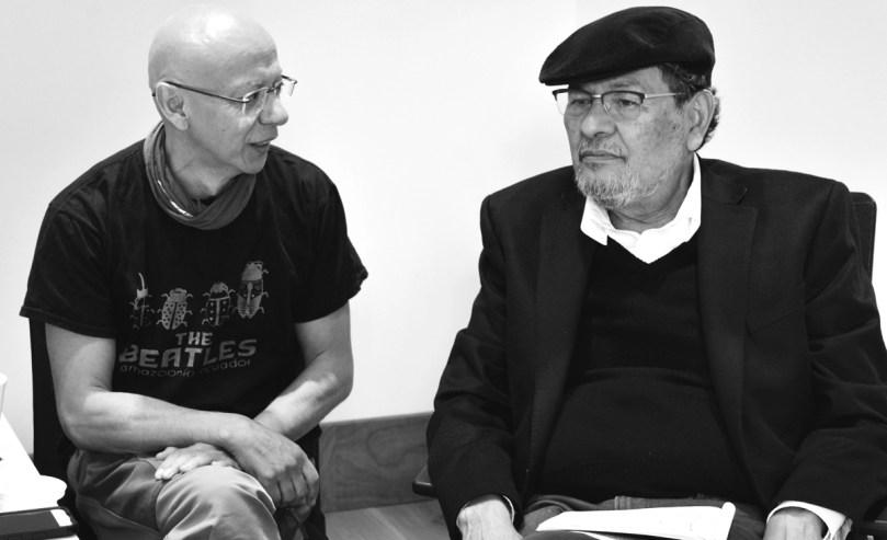Élmer Mendoza conversa con Óscar Jara