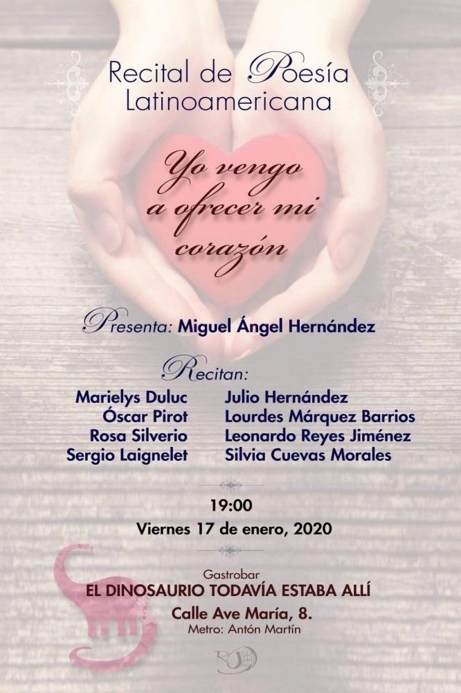 Recital de poesía Latinoamericana