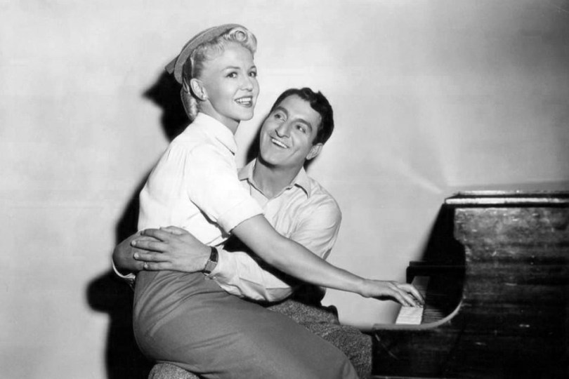 Música en blanco y negro Peggy Lee and Danny Thomas from the 1952 film The Jazz Singer