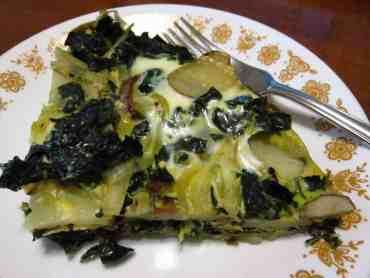 Kale and Potato Frittata
