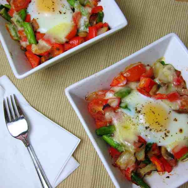 Breakfast Veggie Bake