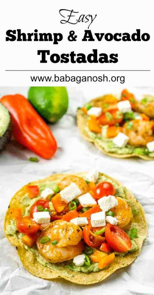 Easy Shrimp and Avocado Tostadas | Babaganosh - Darn Good ...