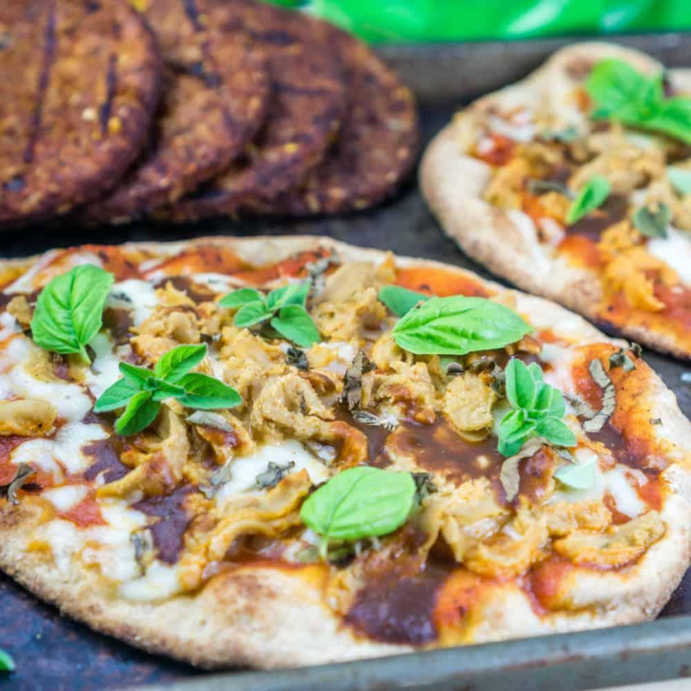 Grilled Naan Pizza | Babaganosh.org