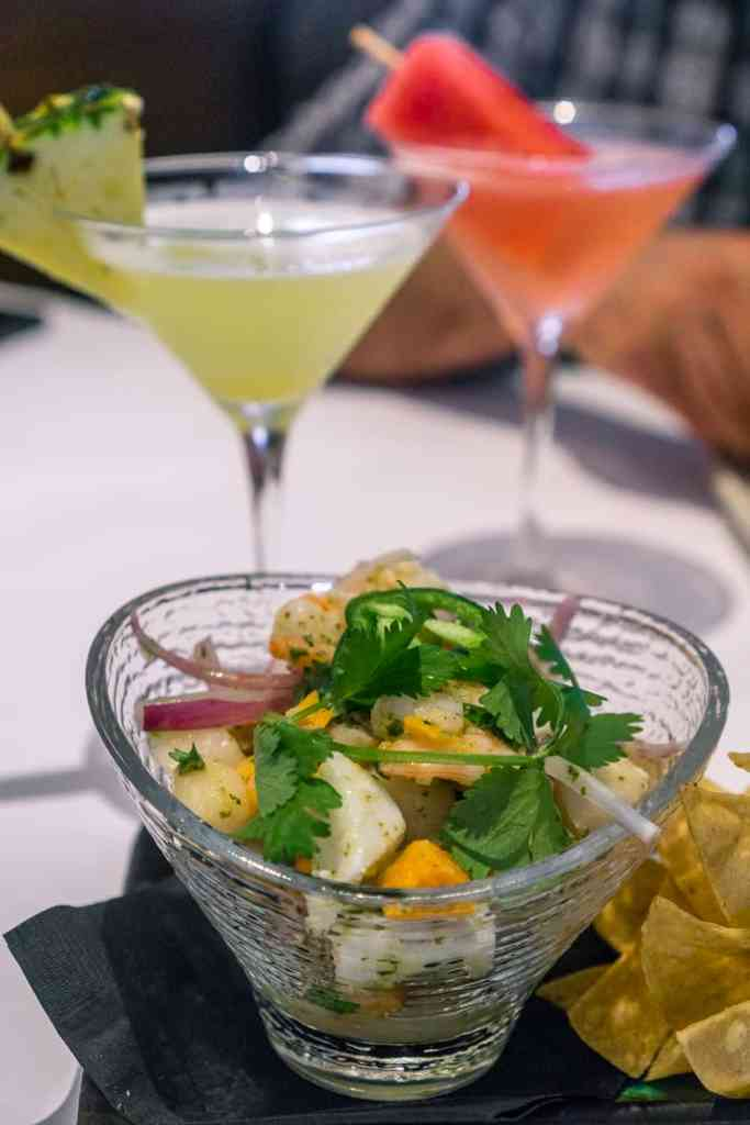 Bonefish Grill Summer Menu - Fresh Ceviche
