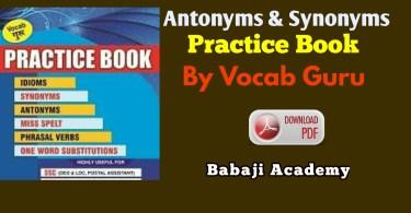 Vocab Guru English Book Pdf