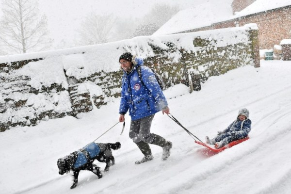 'Beast From the East' Sends Arctic Blast Across Europe