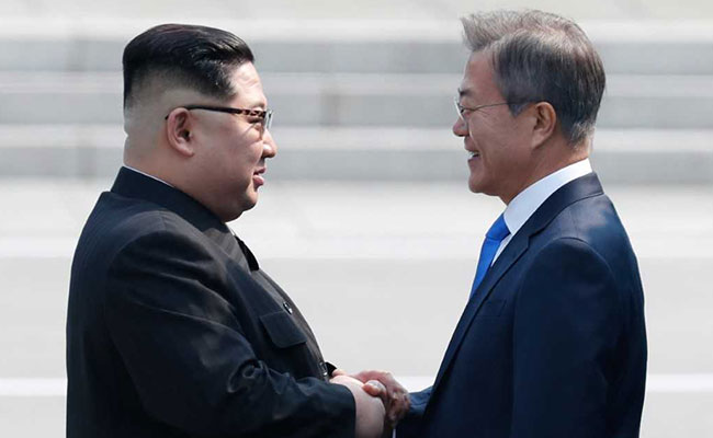 Kim and Moon Give Hope Of A Better, Peaceful Korea, by Morak Babajide-Alabi