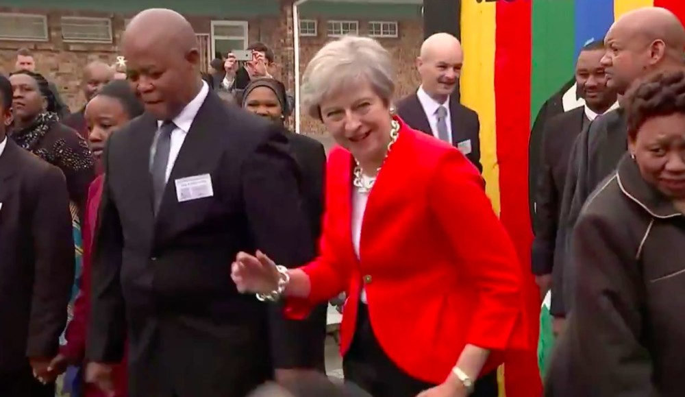 Dance, Theresa May Dance! BREXIT Is Far Away, by Morak Babajide-Alabi