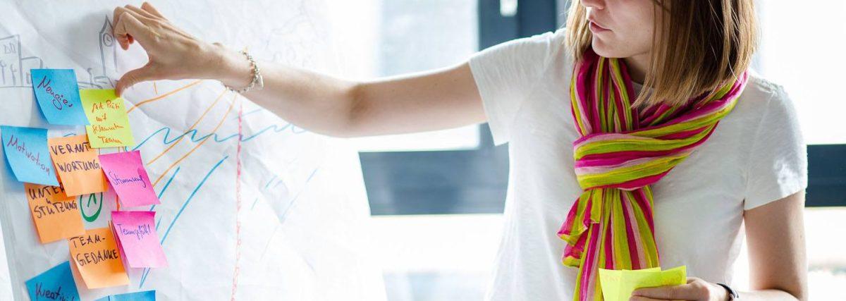 """Agile Marketing: Das Scrum-Team """"The Heat"""" von Pixum."""