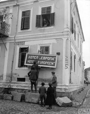 Приказна за хотелот Европа во времето на Првата Светска војна