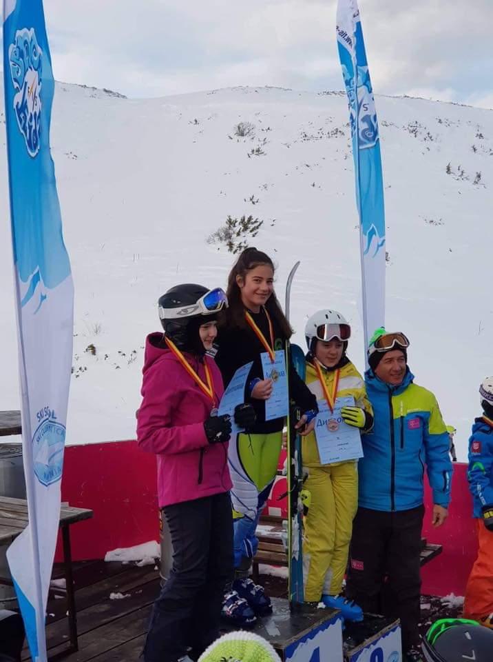 Добар почеток и прво место за најмладите од Ски Клуб Пелистер