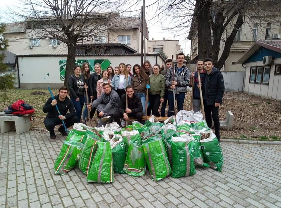 Еко акција и на гимназијалците во СОУ Јосип Броз Тито Битола