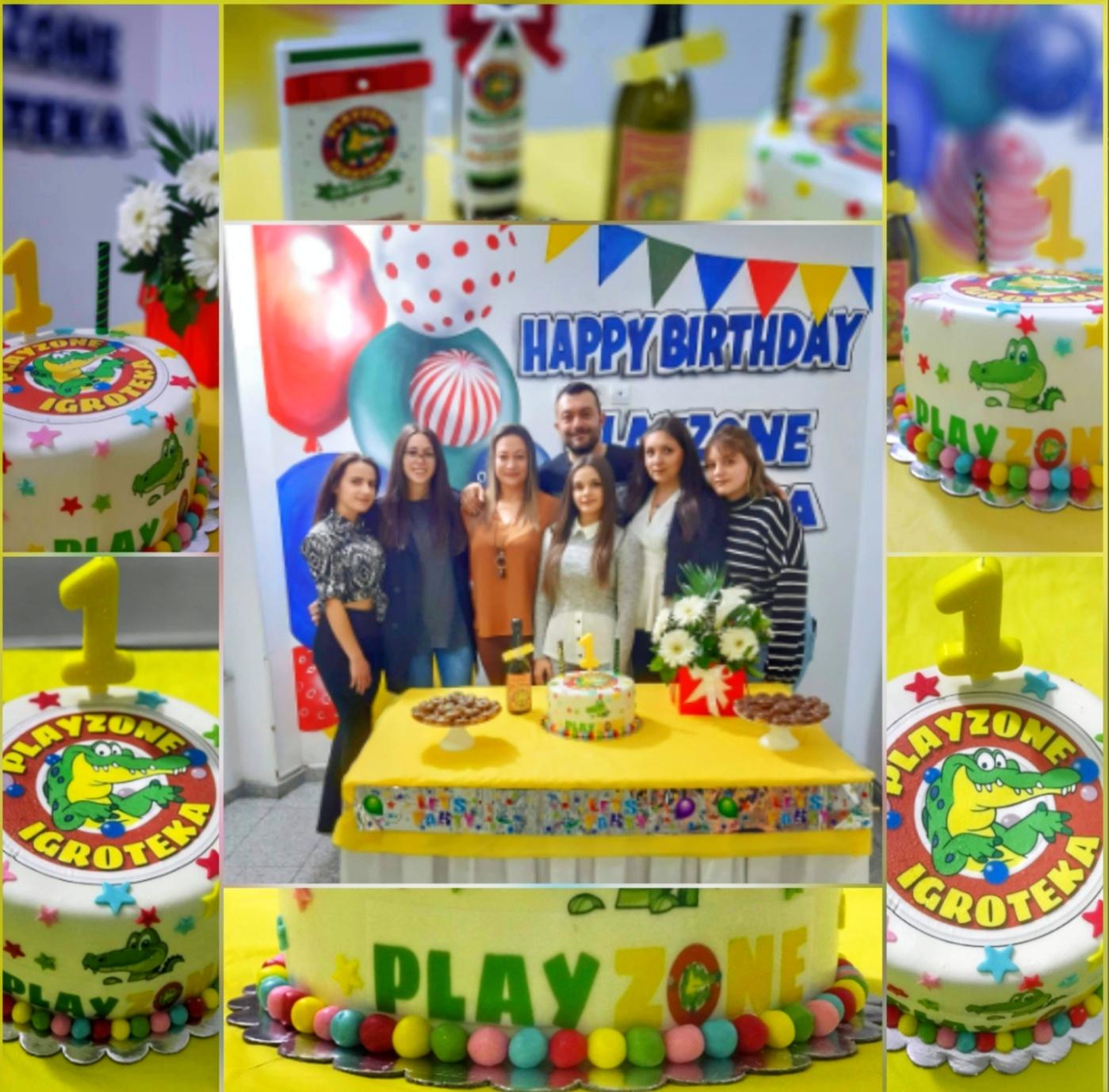 Игротеката Playzone денес го прослави нивниот прв роденден