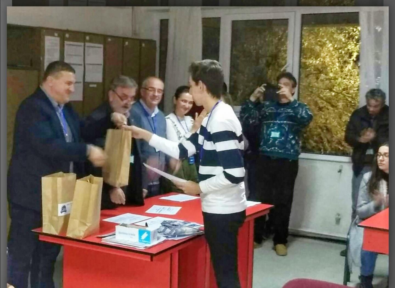 Ученикот Ангел Насев од ОУ Ѓорги Наумов Битола е прогласен за Лидер на Електротехничката струка за 2019