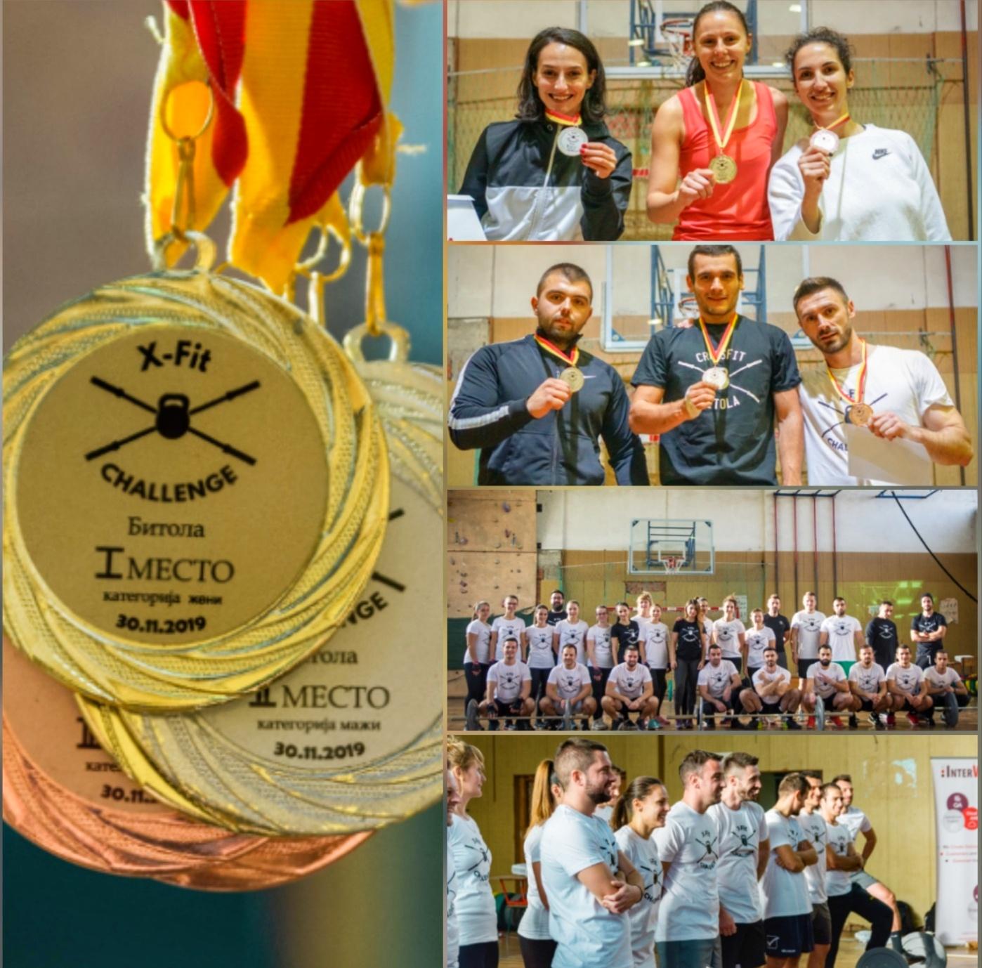За прв пат во Битола се одржа кросфит натпревар X-Fit Challenge