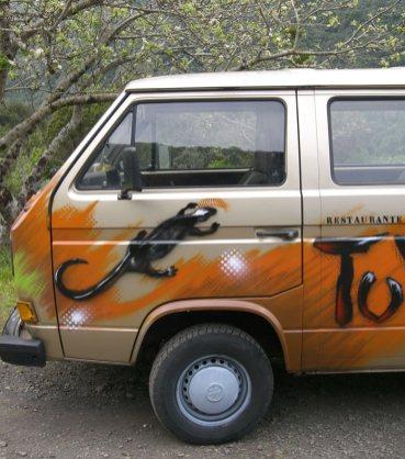 VW Bulli Bus T3, Tuyo, Gomera, Kanaren 2006
